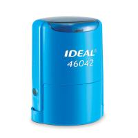 IDEAL 46042 P2 автоматическая оснастка для печати с защитной крышкой (СИНЯЯ)