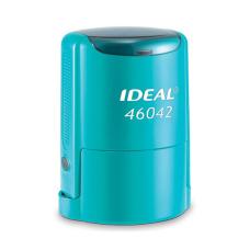 IDEAL 46042 P2 автоматическая оснастка для печати с защитной крышкой (бирюзовая)