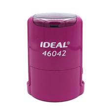 IDEAL 46042 P2 автоматическая оснастка для печати с защитной крышкой (фуксия)