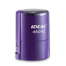 IDEAL 46042 P2 автоматическая оснастка для печати с защитной крышкой (ФИОЛЕТОВАЯ)