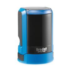 Trodat 4642 NEW автоматическая оснастка для печати d42 мм с защитной крышкой (синяя).
