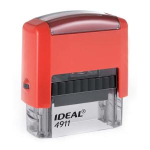 4911 P2 IDEAL  автоматическая оснастка для штампа 38x14 мм (красная)