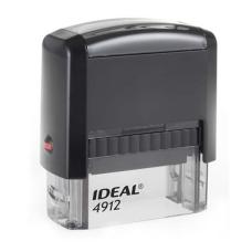 4912 P2 IDEAL  автоматическая оснастка для штампа 47x18 мм (черная)