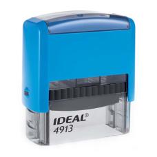 4913 P2 IDEAL  автоматическая оснастка для штампа 58x22 мм (синяя)