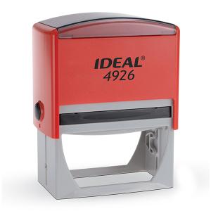 4926 P2 IDEAL  автоматическая оснастка для штампа 75x38 мм (красная)