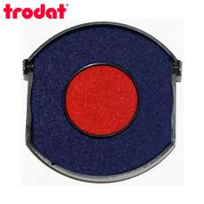 Trodat 6/4642/2R сине-красная сменная штемпельная подушка для автоматической оснастки Trodat 4642