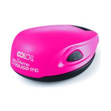 Colop Stamp Mouse R40 pink neon (розовый неон) карманная оснастка для печати D 40 мм.