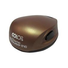 Colop Stamp Mouse R40 bronze (бронза) карманная оснастка для печати D 40 мм.