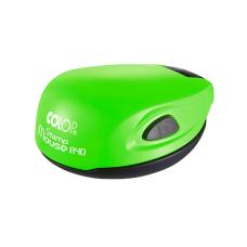 Colop Stamp Mouse R40 green neon (зеленый неон) карманная оснастка для печати D 40 мм.