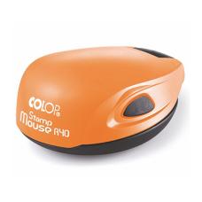 Colop Stamp Mouse R40 orange (оранжевая) карманная оснастка для печати D 40 мм.