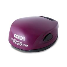 Colop Stamp Mouse R40 violet (фиолетовая) карманная оснастка для печати D 40 мм.