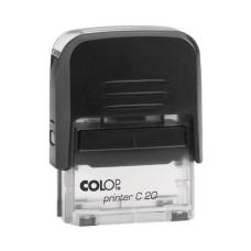 Colop Printer C20 Compact Transparent автоматическая оснастка для штампа 38x14 мм (черная)