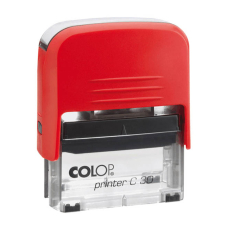 Colop Printer C30 Compact Transparent автоматическая оснастка для штампа 47x18 мм (красная)
