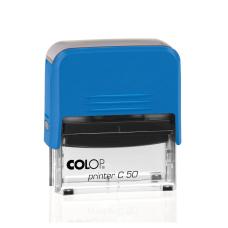 Colop Printer C50 Compact Transparent автоматическая оснастка для штампа 69x30 мм (синяя)