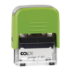 Colop Printer C20 Compact Transparent автоматическая оснастка для штампа 38x14 мм (киви)