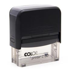 Colop Printer C50 Compact Transparent автоматическая оснастка для штампа 69x30 мм (черная)