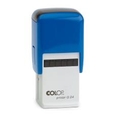 Colop Printer Q24 автоматическая оснастка для штампа 24x24 мм (синяя)