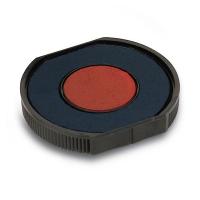 GRM R40/26 сине-красная сменная штемпельная подушка для автоматической оснастки Trodat 46040, Colop R40, GRM R40, 46040 Plus, Hummer 46040