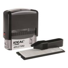 Ideal 4913/DB TYPO РУС Самонаборный штамп, корпус черный