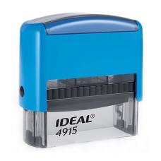 IDEAL 4915 P2 автоматическая оснастка для штампа 70x25 мм (синяя)