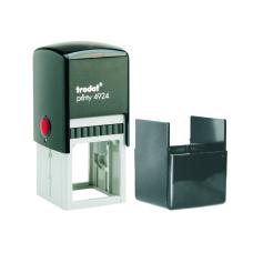 Trodat 4924 printy автоматическая оснастка для квадратной печати 40x40 мм (черная)