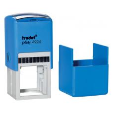 Trodat 4924 printy автоматическая оснастка для квадратной печати 40x40 мм (синяя)