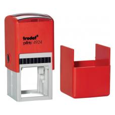 Trodat 4924 printy автоматическая оснастка для квадратной печати 40x40 мм (красная)