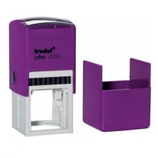 Trodat 4924 printy автоматическая оснастка для квадратной печати 40x40 мм (фиолетовая)