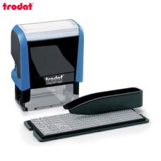 Trodat Printy 4911 P4 TYPO РУС Самонаборный штамп 3 строки (синий)