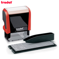 Trodat Printy 4911 P4 TYPO РУС Самонаборный штамп 3 строки (красный)