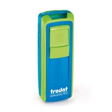 Trodat Pocket Printy 9512 синий и зеленое яблоко