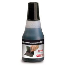 Штемпельная краска COLOP 801 Noris (Германия) ЧЕРНАЯ 25 мл.