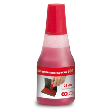 Штемпельная краска COLOP 801 Noris (Германия) красная 25 мл.