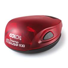 Colop Stamp Mouse R30 ruby (рубин) карманная оснастка для печати D 30 мм.