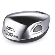 Colop Stamp Mouse R40 chrom (хром) карманная оснастка для печати D 40 мм.