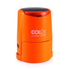 Colop Cover Printer R40 оснастка для печати с защитной крышкой (оранжевый неон).