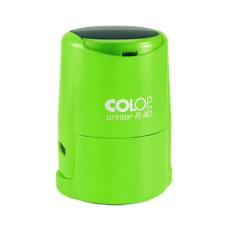 Colop Printer R40 Cover оснастка для печати с защитной крышкой (зеленый неон).