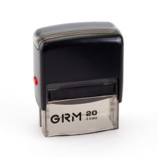 GRM 20 Office. Автоматическая оснастка для штампа 38x14мм, корпус ЧЕРНЫЙ