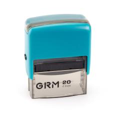 GRM 20 Office. Автоматическая оснастка для штампа 38x14мм, корпус БИРЮЗОВЫЙ.