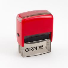 GRM 20 Office. Автоматическая оснастка для штампа 38x14мм, корпус КРАСНЫЙ