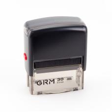GRM 30 Office. Автоматическая оснастка для штампа 47x18мм, корпус ЧЕРНЫЙ