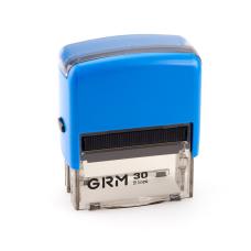 GRM 30 Office. Автоматическая оснастка для штампа 47x18мм, корпус СИНИЙ