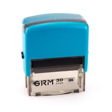 GRM 30 Office. Автоматическая оснастка для штампа 47x18мм, корпус БИРЮЗОВЫЙ.