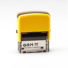 GRM 30 Office. Автоматическая оснастка для штампа 47x18мм, корпус ЖЕЛТЫЙ