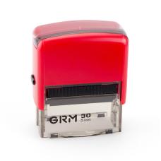 GRM 30 Office. Автоматическая оснастка для штампа 47x18мм, корпус КРАСНЫЙ