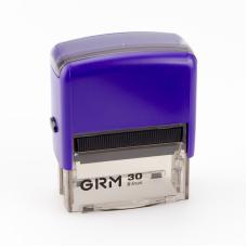 GRM 30 Office. Автоматическая оснастка для штампа 47x18мм, корпус ФИОЛЕТОВЫЙ