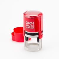 GRM 46040 Hummer ABS Оснастка для печати в боксе D 40мм (корпус красный глянец)