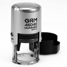GRM 46040 Hummer Delux оснастка для печати в боксе D40 мм серебряный корпус