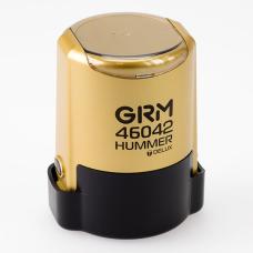 GRM 46042 Hummer Delux оснастка для печати в боксе D42 мм золотой корпус