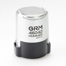 GRM 46042 Hummer Delux оснастка для печати в боксе D42 мм серебряный корпус